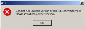 ATL Error